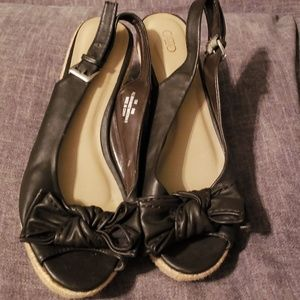 Cato Shoes - Brown wedge sandals